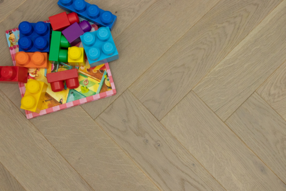 Prime Engineered Flooring Oak Herringbone Silver Stone Brushed UV Matt Lacquered 14/3mm By 98mm By 588mm FL3011 4