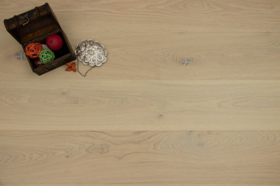 Prime Engineered Flooring Oak Vienna Brushed UV Matt Lacquered Eco 14/3mm By 178mm By 1000-2400mm GP259 0