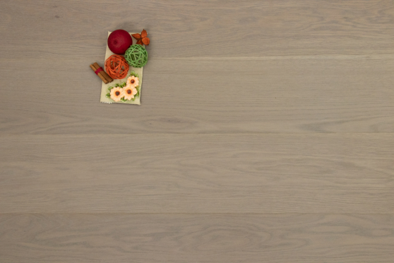 Prime Engineered Flooring Oak White Grey Brushed UV Oiled 14/3mm By 178mm By 1000-2400mm GP191 1
