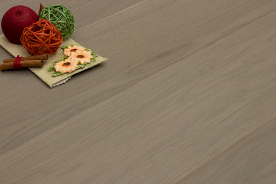 Prime Engineered Flooring Oak Click White Grey Brushed UV Oiled 14/3mm By 146mm By 800-1805mm GP182 1