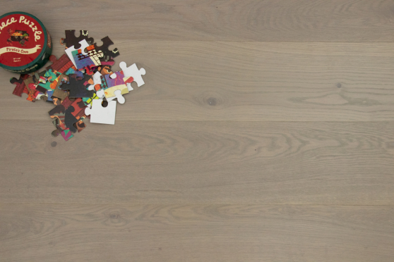 Prime Engineered Flooring Oak White Grey Brushed UV Oiled Eco 14/3mm By 178mm By 1200-2000mm GP237 1