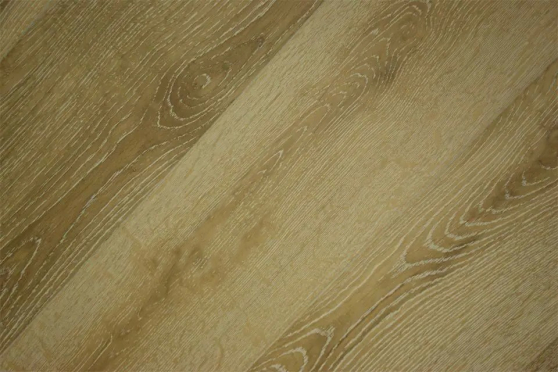 Prime Engineered Flooring Oak White Washed Brushed UV Lacquered 15/4mm By 190mm By 1900mm FL2644 1