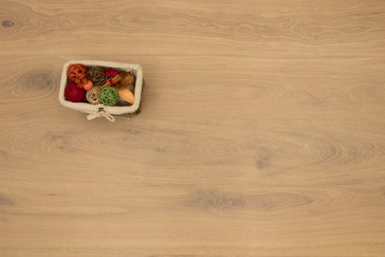 Prime Engineered Flooring Oak Click Sunny White Brushed UV Matt Lacquered 14/3mm By 195mm By 2000mm FL3851 6