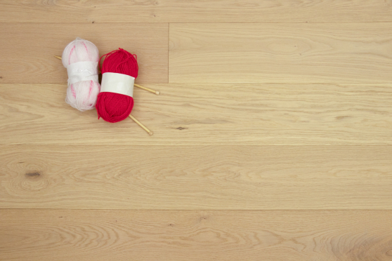 Natural Engineered Flooring Oak Non Visible Brushed UV Lacquered 15/4mm By 190mm By 1900mm FL3701 6