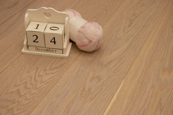 Prime Engineered Flooring Oak White Brushed UV Oiled 14/3mm By 178mm By 1000-2400mm GP245 3