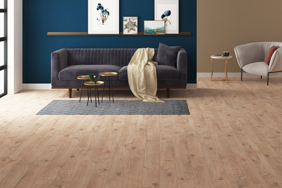 Rhodes Almond Oak Laminate Flooring 12mm By 159mm By 1380mm LM035 1