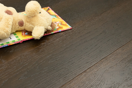 Natural Engineered Flooring Oak Espresso Piccolo Brushed UV Oiled 15/4mm By 220mm By 2200mm FL2103 3