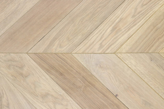 Select Engineered Flooring Oak Chevron Vienna Brushed HardWax OIled 16/4mm By 120mm By 580mm CH019 1