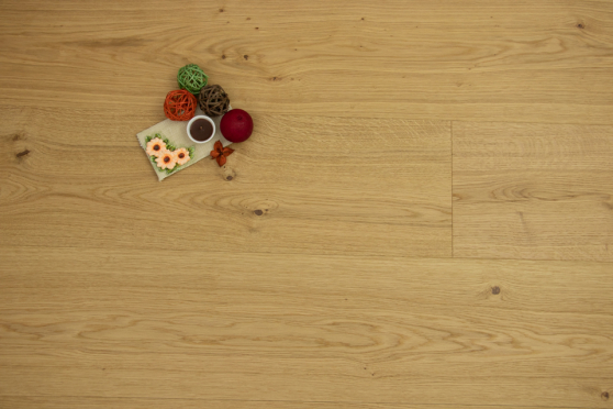 Select Engineered Flooring Oak San Marco Brushed UV Lacquered 15/4mm By 242mm By 2350mm FL3875 5