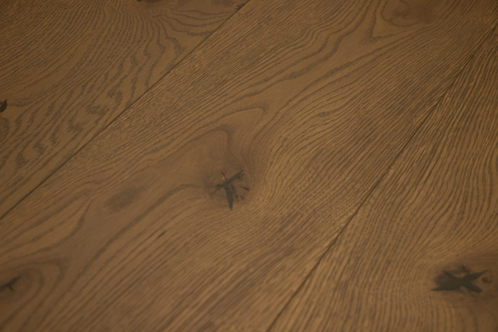 Select Engineered Flooring Oak San Marino Brushed UV Oiled 15/4mm By 220mm By 1600-2500mm GP175 1