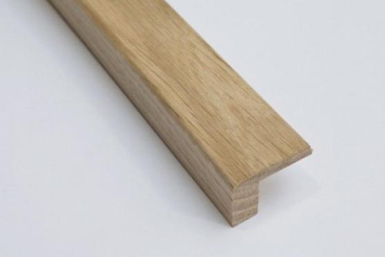 Solid Oak L Shape 21mm by 27mm by 1000-2400mm