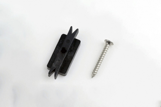 Solid Plastic Clips for Supremo WPC Composite Decking Boards AC195 1