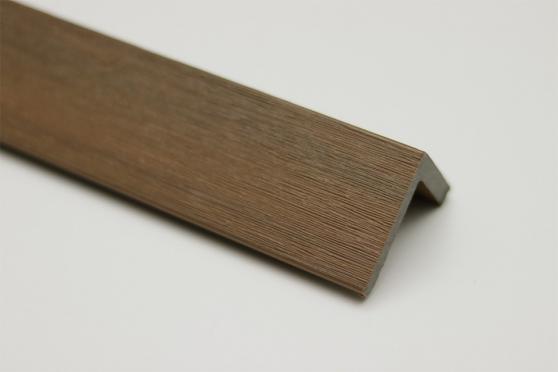 Fascia Decking Composite Supremo Teak 50mm 50mm 1000mm DC015-1000 1