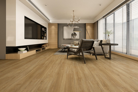 Luxury Click Vinyl Rigid Core Flooring Olive 4.2mm By 178mm By 1220mm VL018 0