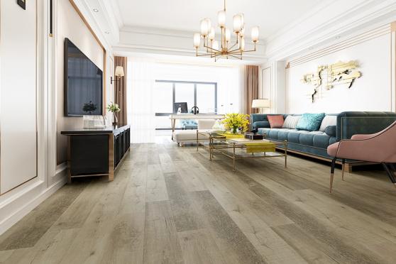 Luxury Click Vinyl Rigid Core Flooring Swan Grey 4.2mm By 178mm By 1220mm VL021 6