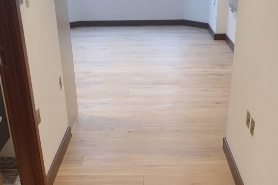 Natural Engineered Flooring Oak Bespoke White Sand Brushed UV Oiled 15/3mm By 180mm By 1400-2400mm GP084 1