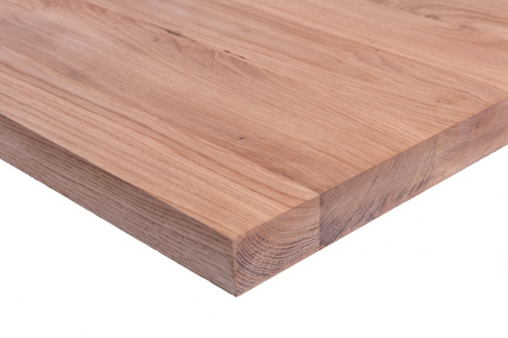 Full Stave Rustic Oak Worktop 26mm By 620mm By 2400mm