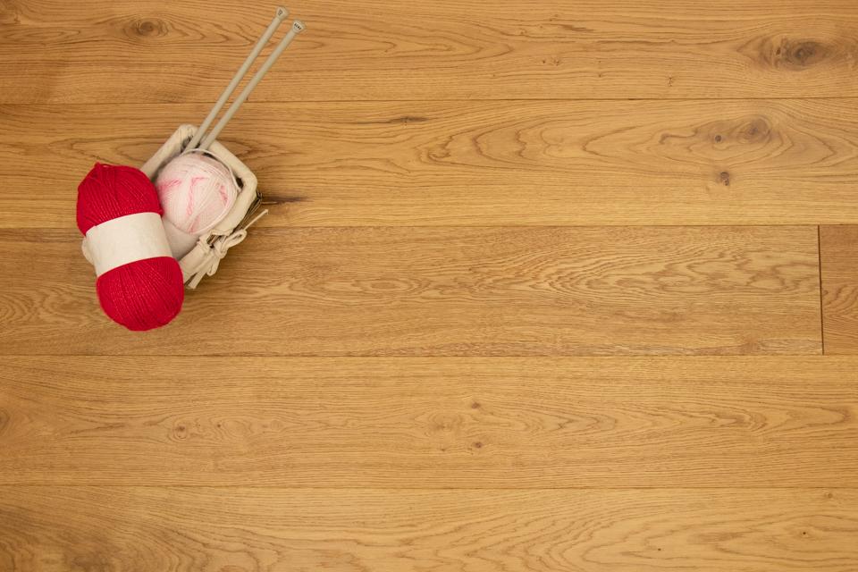 UV Lacquered Engineered Oak Wood Flooring 20 x  x 191 x 1900 mm ^Sample^