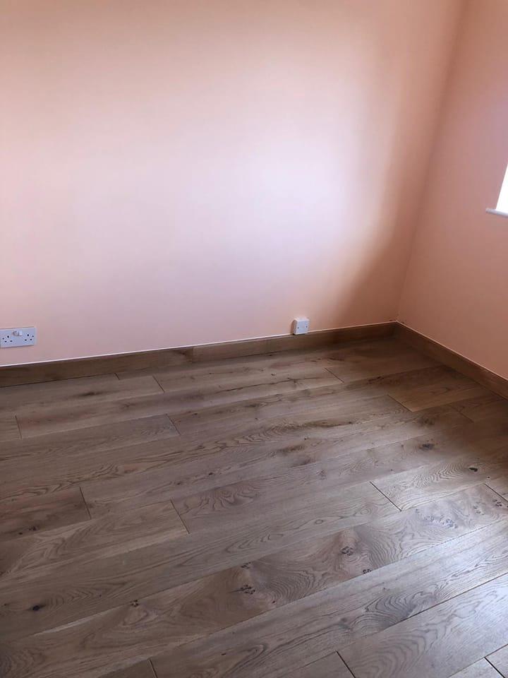 Natural Solid Flooring Oak UV Matt Lacquered