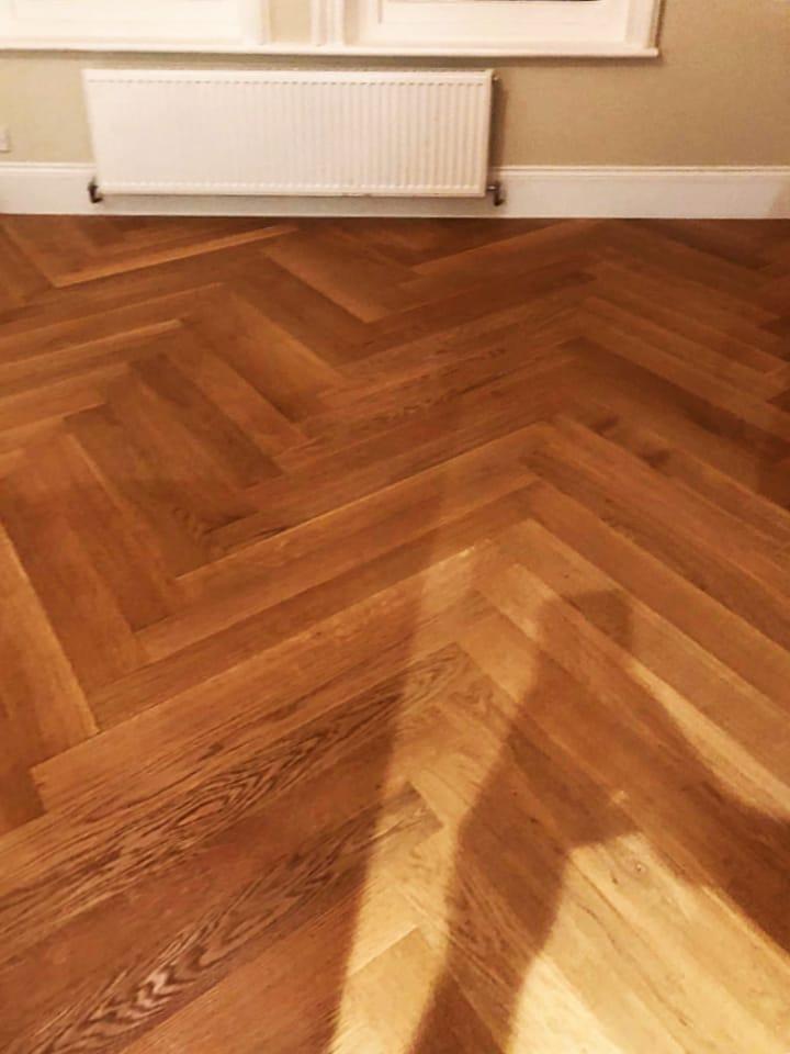 Herringbone Wood Flooring