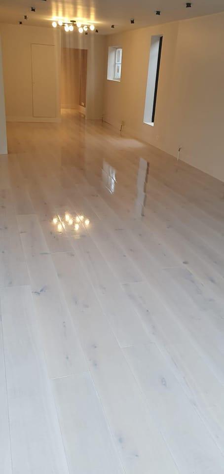 Bespoke Wood Flooring Snow White Hardwax Oiled