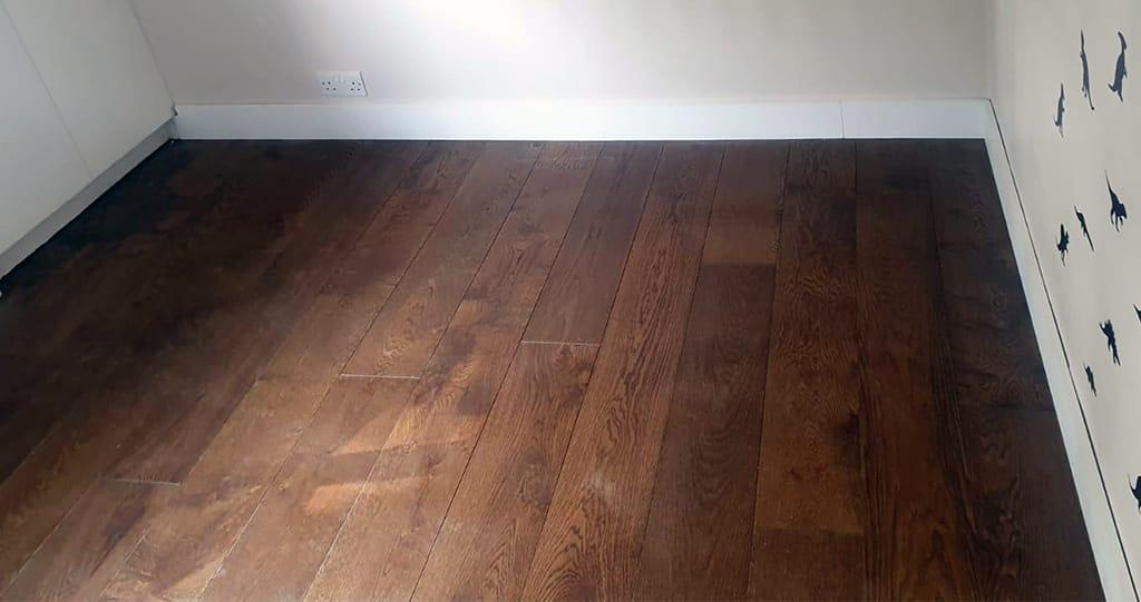 Natural Engineered Flooring Oak Smoked Brushed UV Oiled