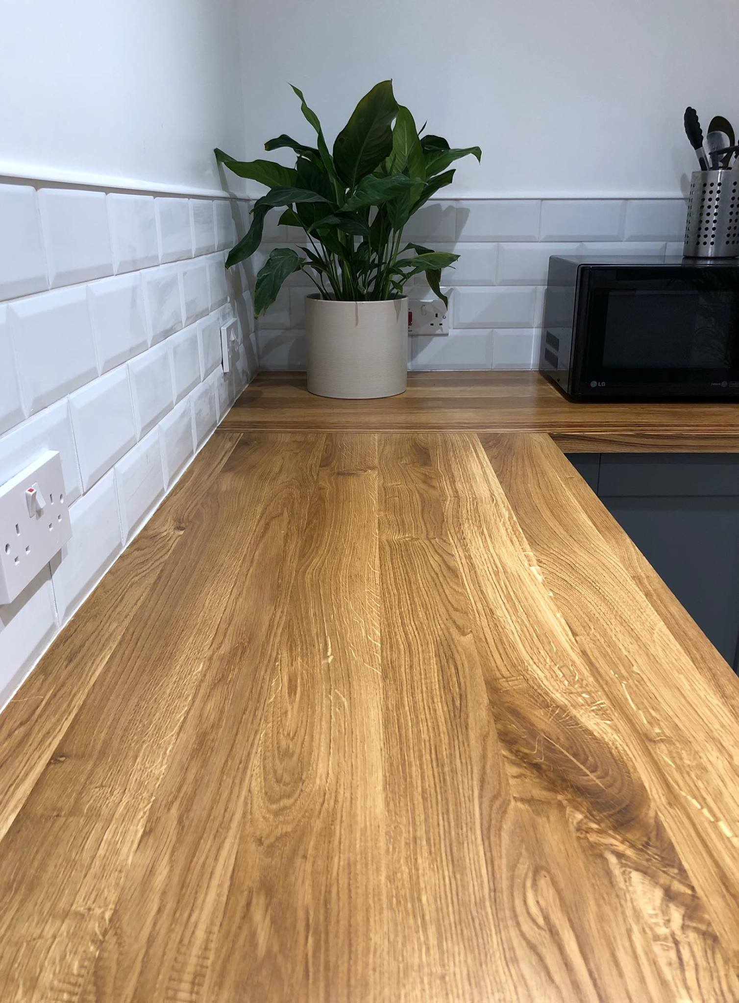 Full Stave Oak Worktop