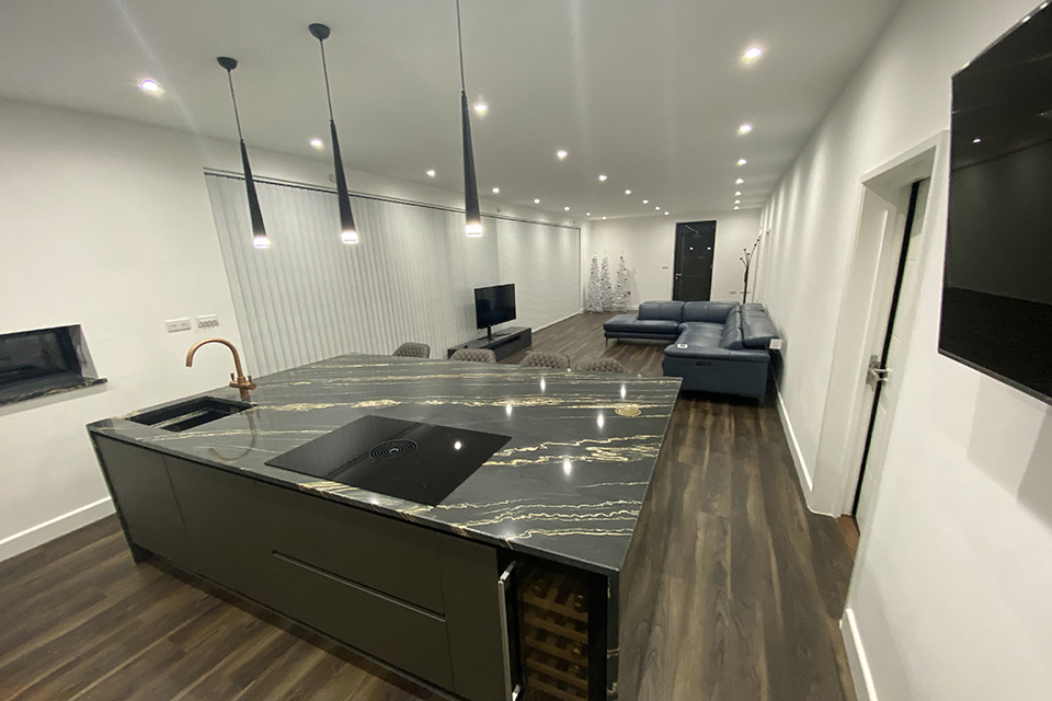 Luxury Vinyl Flooring Smoked