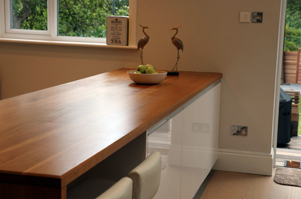 Full Stave Prime Oak Worktops from Wood and Beyond