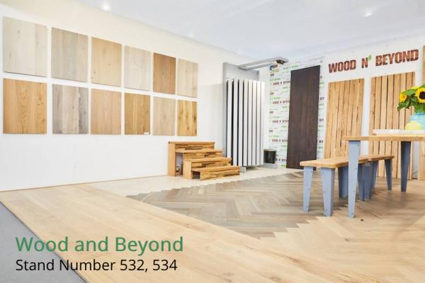 Visit Wood and Beyond at The Surface Design Show