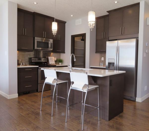 Dark Floorboards Suit Brighter Interiors the Best