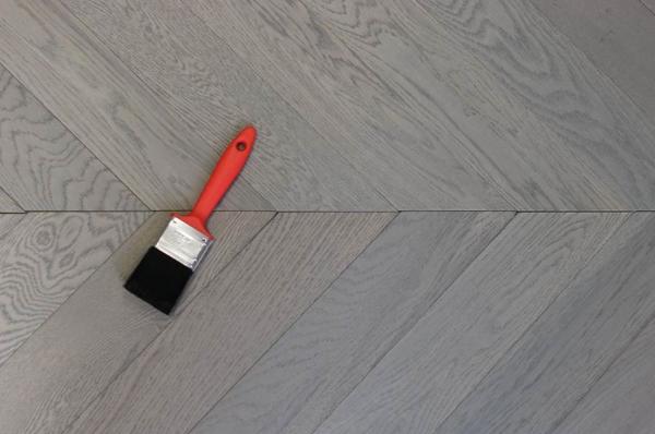 Herringbone and Chevron Criss Cross Wood Flooring