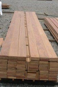 Hardwood Decking Costs and Types