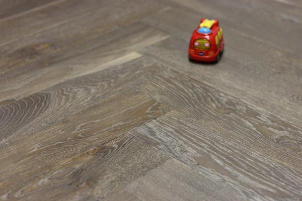 Oak Herringbone Flooring Natural, Light Or Dark
