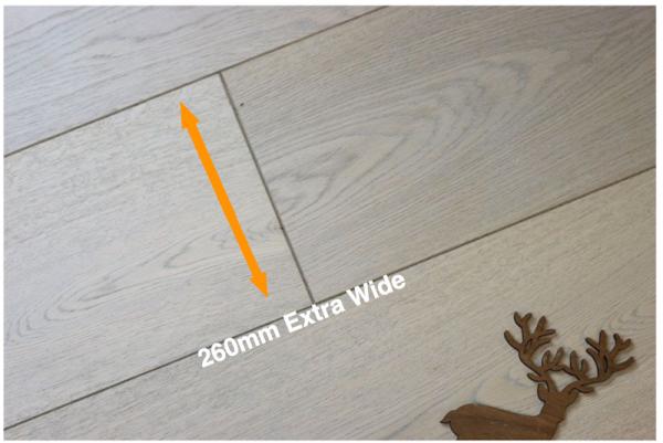 Extra Wide Wooden Flooring: We've Got Them