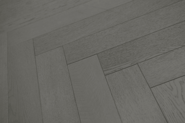 Grey Herringbone Flooring - Knock-Out Combination of Two Hot Trends