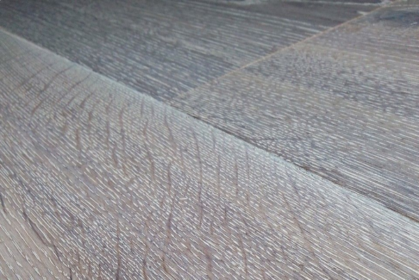 Silver Wood Flooring from Wood and Beyond