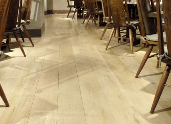 White Sand Wood Flooring: Simply Gorgeous
