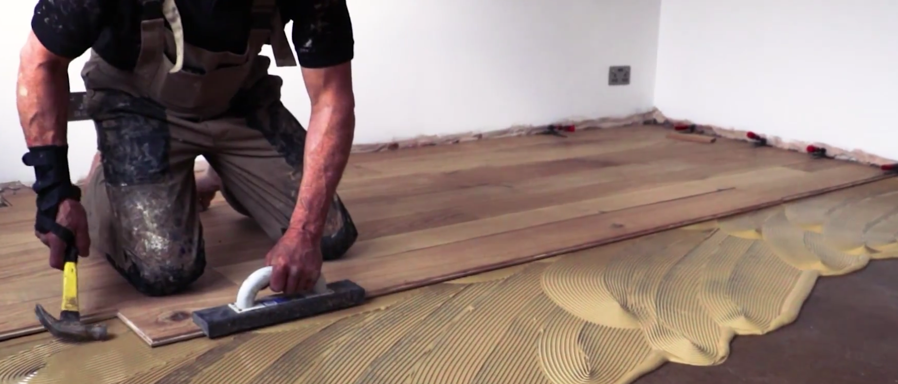 Ing Hardwood Floor To Concrete