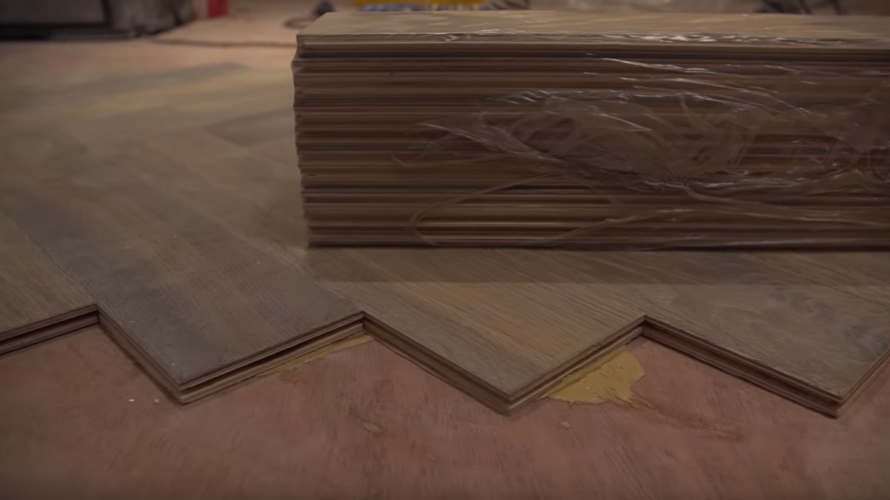 Laying Solid Wood Flooring Onto, Can I Install Laminate Flooring Over Old
